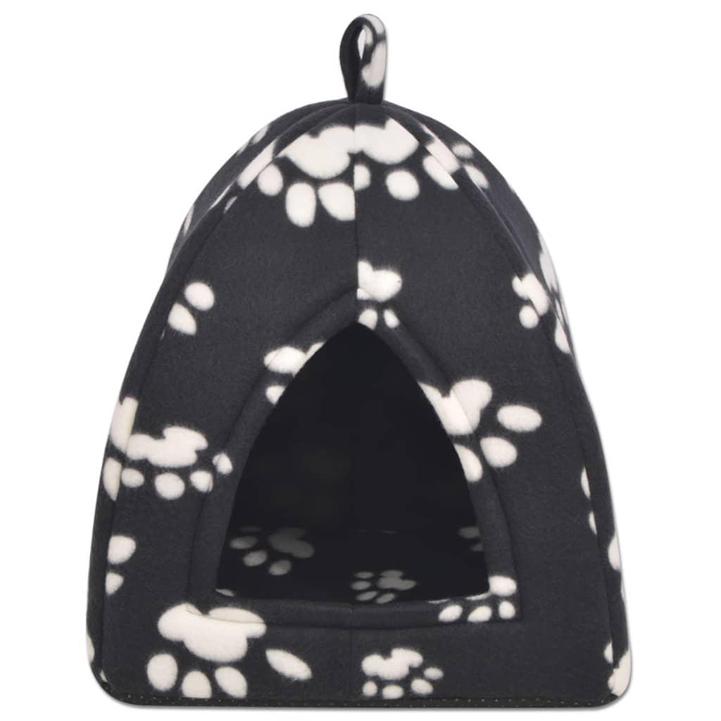 vidaXL Pelíšek pro kočku, velikost L, černá