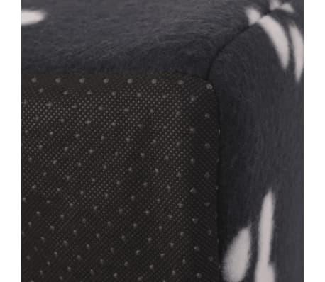 vidaXL Mačje Ležišče Velikost L Črne Barve[5/5]