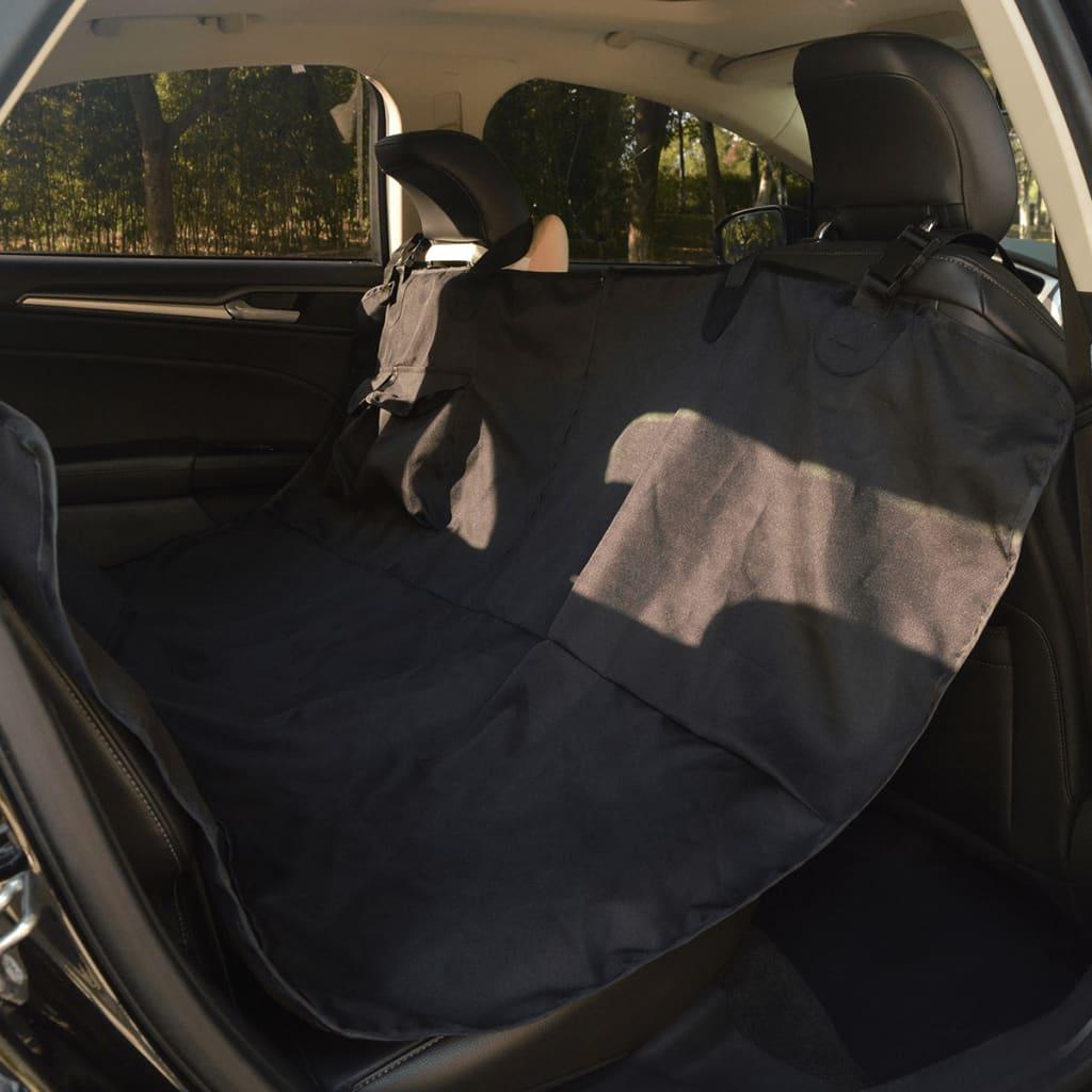 vidaXL Chránič na zadní sedačku pro domácí mazlíčky 148x142 cm černý