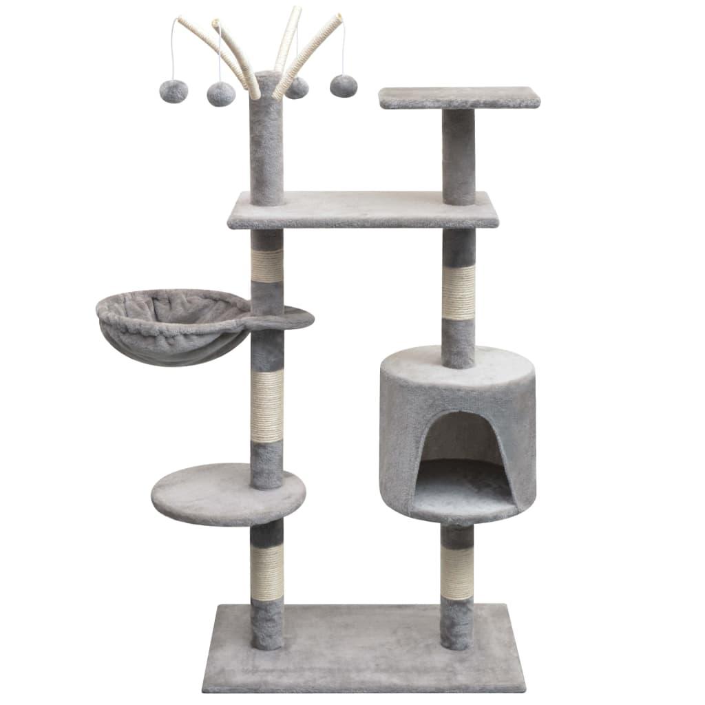 Bild von vidaXL Katzen-Kratzbaum 125 cm Grau