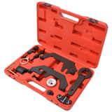 vidaXL 12-częściowy zestaw narzędzi do regulacji wałka rozrządu/ wałka korbowego V8 V12 N62 N73