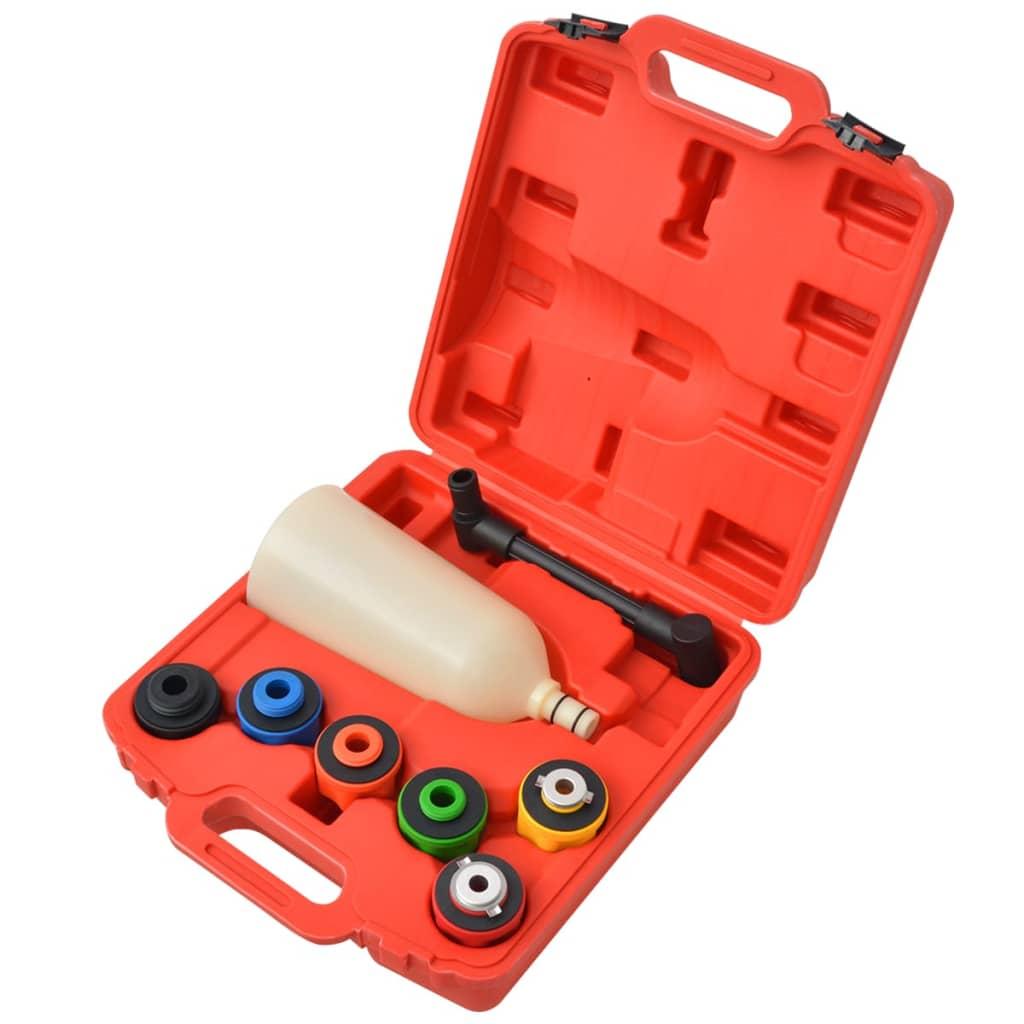 vidaXL Set scule pentru umplere cu ulei de motor 8 piese vidaxl.ro