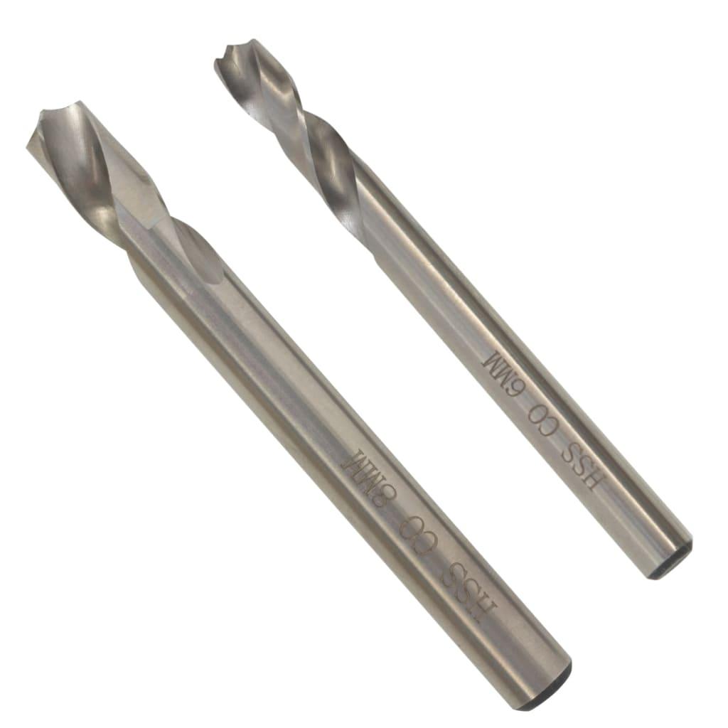 2dílný set vrtáků na bodové sváry HSS-Cobalt 6/8 mm