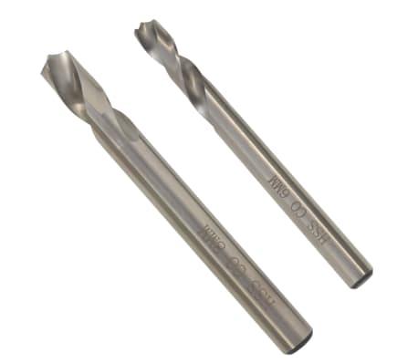 """vidaXL 2 Piece Spot Weld Drill Bit Set 6/8 mm (0.2""""/0.3"""") HSS-Cobalt[1/3]"""