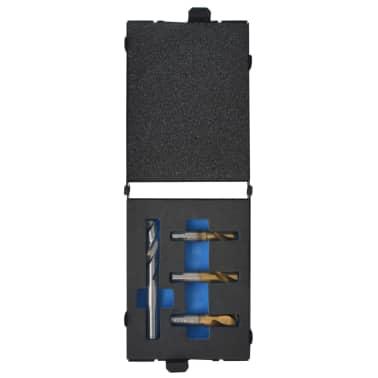 vidaXL 4 Piece Spot Weld Drill Bit Set HSS-Cobalt[1/5]