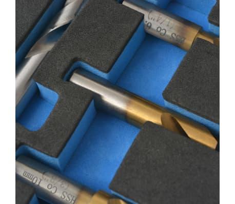 vidaXL 4 Piece Spot Weld Drill Bit Set HSS-Cobalt[4/5]