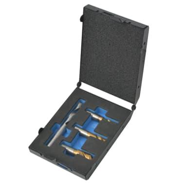 vidaXL 4 Piece Spot Weld Drill Bit Set HSS-Cobalt[2/5]