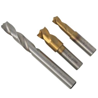 vidaXL 4 Piece Spot Weld Drill Bit Set HSS-Cobalt[3/5]