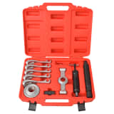vidaXL 11 Piece Two-Way Hydraulic Gear Puller Set Steel