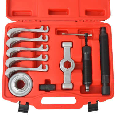 vidaXL 11 Piece Two-Way Hydraulic Gear Puller Set Steel[3/4]