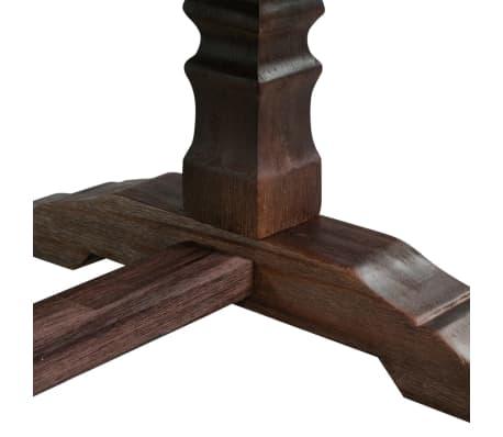 vidaXL Stolik kawowy z drewna akacjowego na postumencie[7/8]