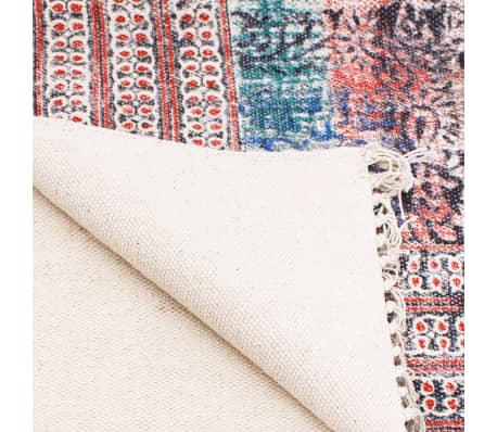 acheter vidaxl tapis 180 x 120 cm coton rouge pas cher. Black Bedroom Furniture Sets. Home Design Ideas