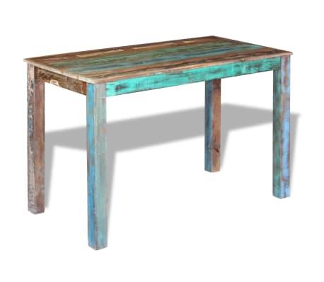 "vidaXL Dining Table Solid Reclaimed Wood 45.3""x23.6""x30""[2/8]"