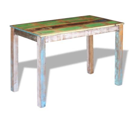 "vidaXL Dining Table Solid Reclaimed Wood 45.3""x23.6""x30""[3/8]"