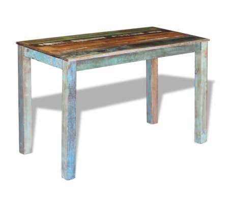 "vidaXL Dining Table Solid Reclaimed Wood 45.3""x23.6""x30""[4/8]"