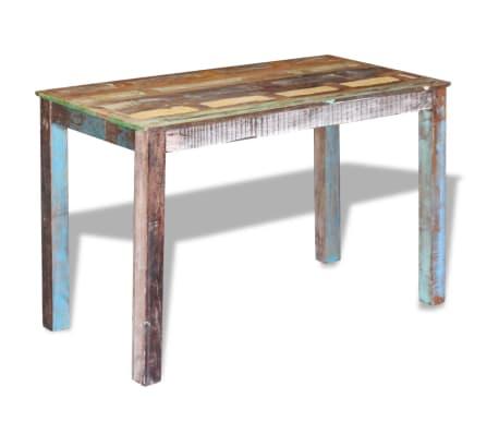 "vidaXL Dining Table Solid Reclaimed Wood 45.3""x23.6""x30""[5/8]"