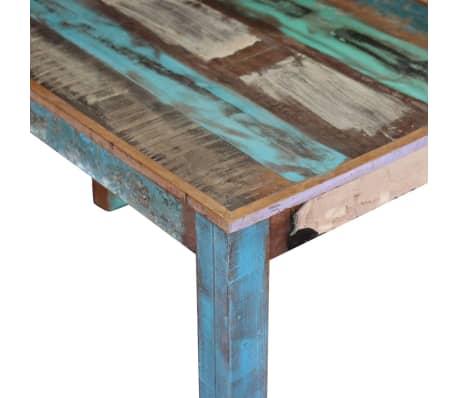 "vidaXL Dining Table Solid Reclaimed Wood 45.3""x23.6""x30""[7/8]"