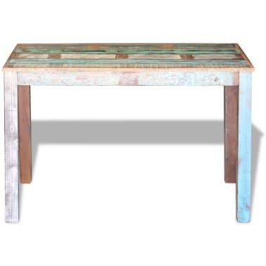 "vidaXL Dining Table Solid Reclaimed Wood 45.3""x23.6""x30""[6/8]"