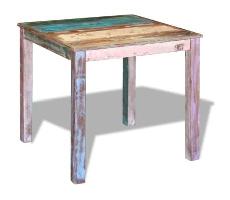"vidaXL Dining Table Solid Reclaimed Wood 31.5""x32.3""x30""[2/8]"