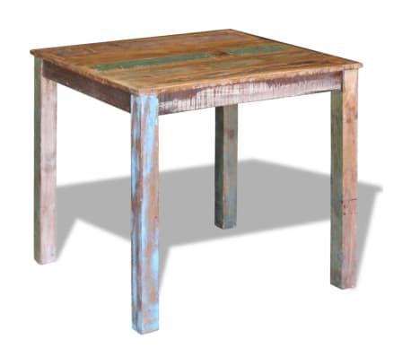 "vidaXL Dining Table Solid Reclaimed Wood 31.5""x32.3""x30""[4/8]"