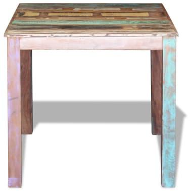 "vidaXL Dining Table Solid Reclaimed Wood 31.5""x32.3""x30""[6/8]"