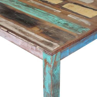 "vidaXL Dining Table Solid Reclaimed Wood 31.5""x32.3""x30""[7/8]"