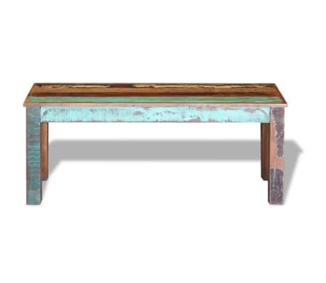 "vidaXL Bench Solid Reclaimed Wood 43.3""x13.8""x17.7""[6/8]"