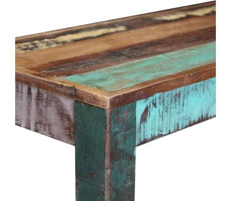 "vidaXL Bench Solid Reclaimed Wood 43.3""x13.8""x17.7""[7/8]"