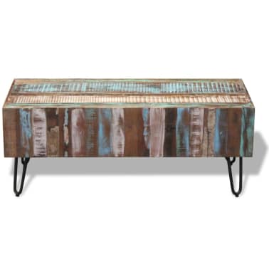 "vidaXL Coffee Table Solid Reclaimed Wood 39.4""x19.7""x15""[6/8]"
