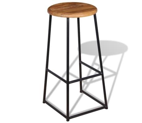 vidaXL Barske stolice od masivne tikovine 2 kom[6/9]