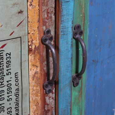 vidaxl kommode mit 4 t ren und 4 schubladen massivholz recycelt g nstig kaufen. Black Bedroom Furniture Sets. Home Design Ideas