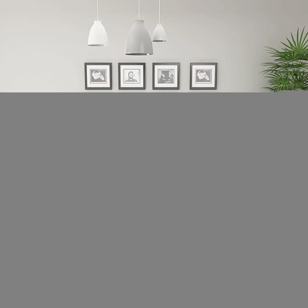 vidaXL Set masă și scaune de bucătărie, 5 piese, alb vidaxl.ro