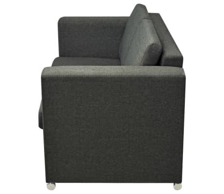 vidaXL 2-Sitzer Sofa Polstersofa Loungesofa Couch ...