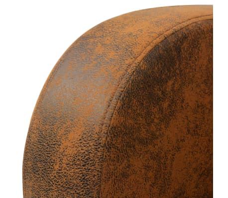 vidaXL Sessel Braun 73x72x76 cm[4/5]