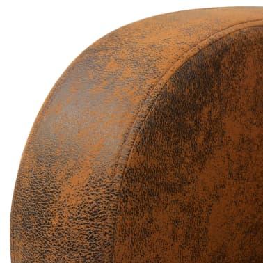 vidaXL barna fotel 73x72x76 cm[4/5]