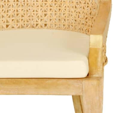 vidaXL Dining Chairs 2 pcs Rattan[4/4]