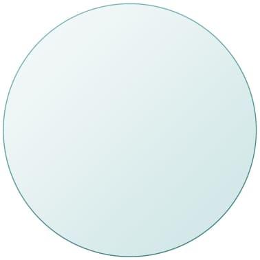 vidaXL bordplade hærdet glas rund 700 mm[1/4]