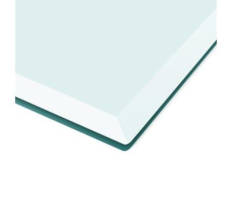 acheter vidaxl dessus de table carr en verre tremp 700 x 700 mm pas cher. Black Bedroom Furniture Sets. Home Design Ideas