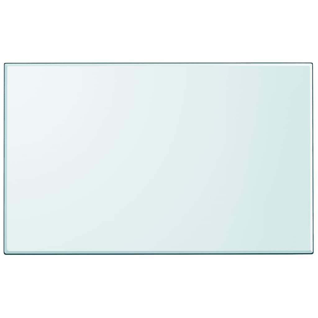 vidaXL Tafelblad van gehard glas 1000x620 mm vierkant