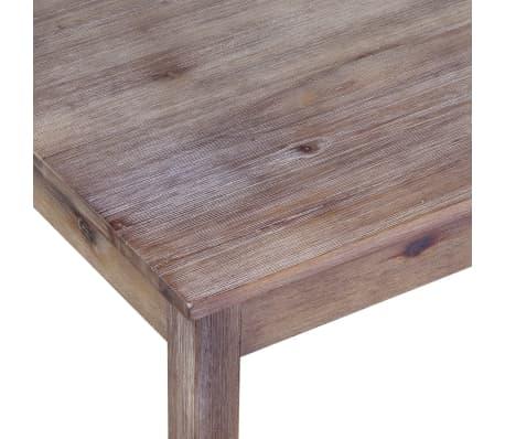Acheter Vidaxl Table De Salle A Manger 120x70x75 Cm Bois D Acacia