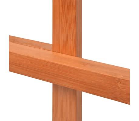 Acheter vidaxl porte serviette bambou 42 x 29 x 85 cm pas for Porte 85 cm