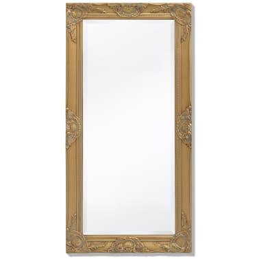"vidaXL Wall Mirror Baroque Style 39.4""x19.7"" Gold[1/9]"