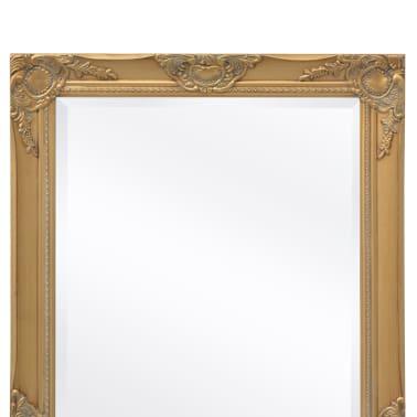 "vidaXL Wall Mirror Baroque Style 39.4""x19.7"" Gold[7/9]"