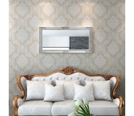 Vidaxl specchio da parete stile barocco 120x60 cm for Specchio da parete 180 cm