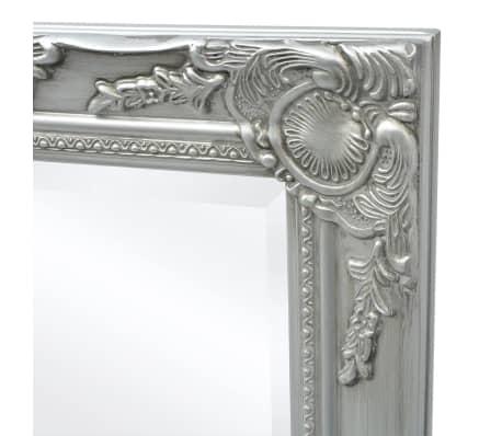 Alle nye Shop vidaXL Vegg Speil Barokk Stil 120x60 cm Sølv | vidaXL.no ER-87