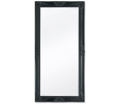 vidaXL Wandspiegel Barok 120 x 60 cm zwart[1/9]