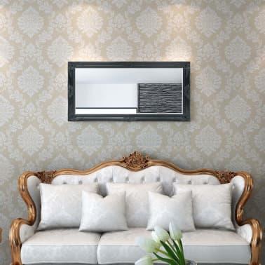 vidaXL Wandspiegel Barok 120 x 60 cm zwart[2/9]