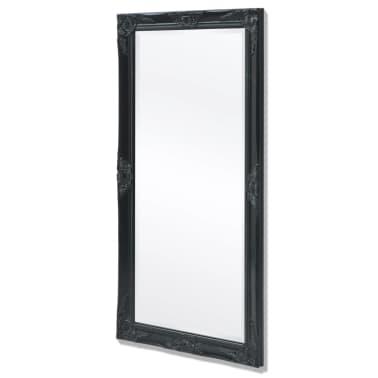 vidaXL Wandspiegel Barok 120 x 60 cm zwart[4/9]