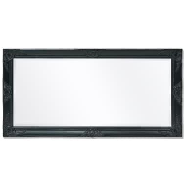 vidaXL Wandspiegel Barok 120 x 60 cm zwart[5/9]