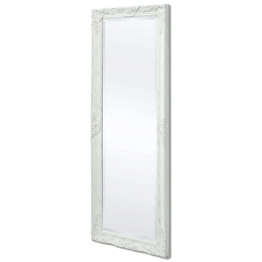 8718475525691 g en hd 3 - vidaXL Espejo de Pared Estilo Barroco 140x50 cm Blanco Espejo de Armario Retro